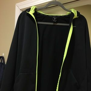 Nike Black Dri-Fit Jacket - Youth XL